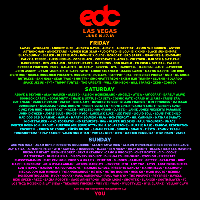 Electric Daisy Carnival (flyer)