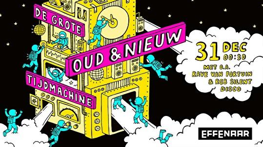 De Grote Oud & Nieuw Tijdmachine (flyer)