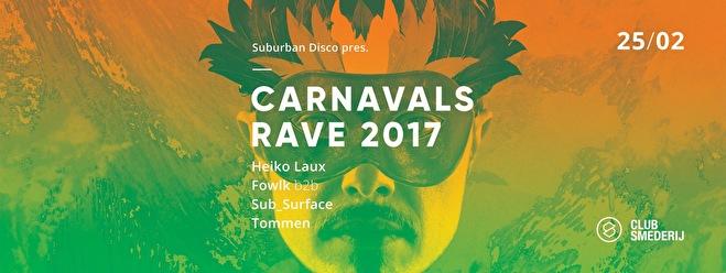 Suburban Disco (flyer)