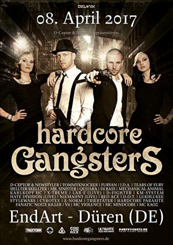 Hardcore Gangsters (flyer)