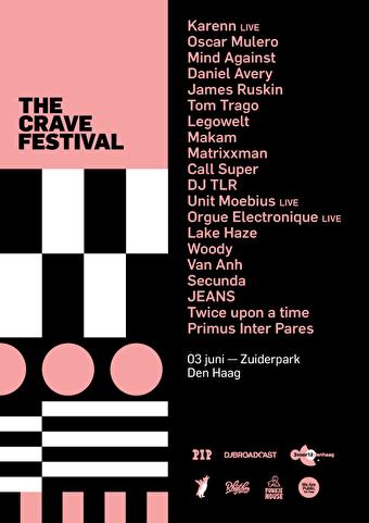 flyer The Crave Festival