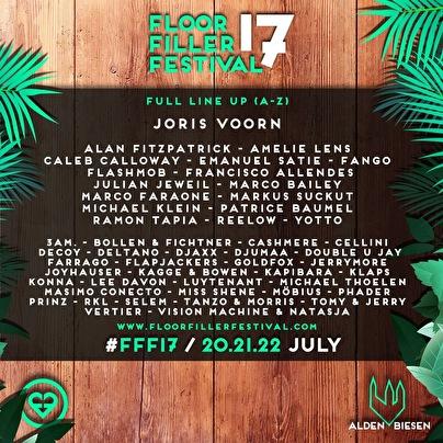 FloorFiller Festival (flyer)