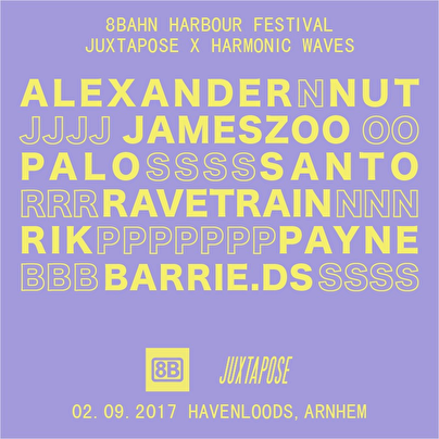 8Bahn Harbour Festival (flyer)