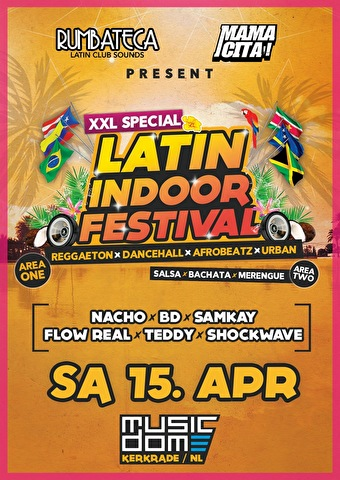 Latin Indoor Festival (flyer)