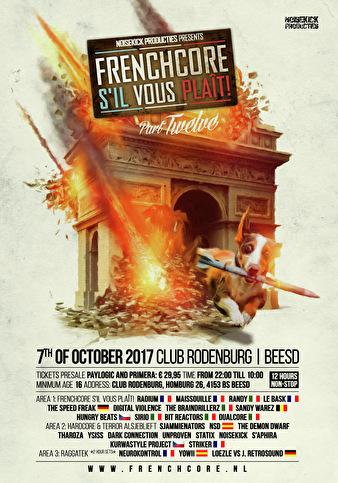 Frenchcore s'il vous plaît! (flyer)