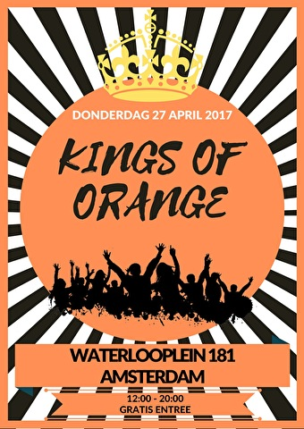 Kings of Orange (flyer)