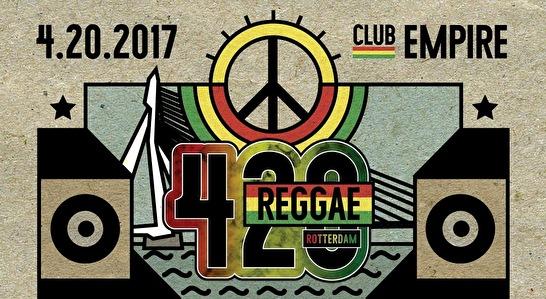 420 Reggae · 20 april 2017, Empire, Rotterdam · evenement