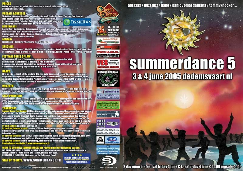 Summerdance 5 (flyer)