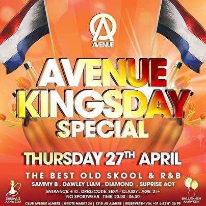 Avenue Kingsday special (flyer)