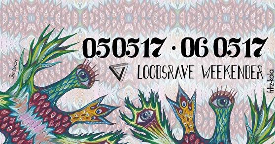 Loodsrave Weekender (flyer)