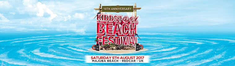 Kiddstock Beach Festival (flyer)