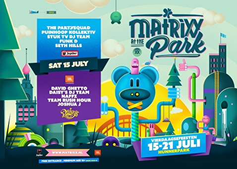 Matrixx at the Park (flyer)