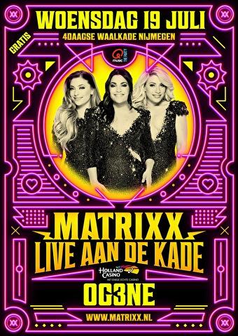 Matrixx Live aan de Kade (flyer)