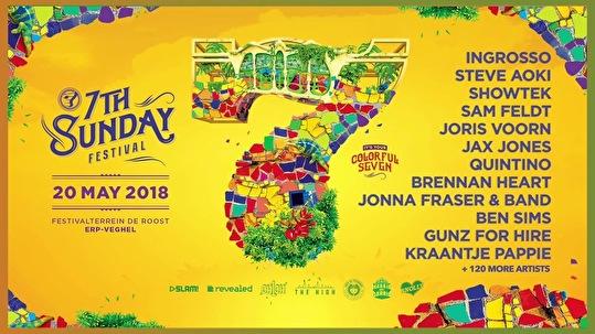 7th Sunday Festival (flyer)