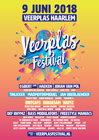 Veerplas Festival (flyer)