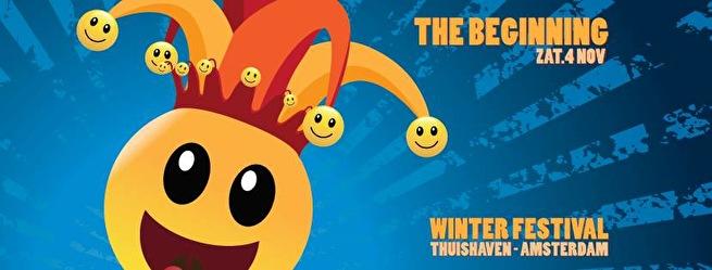 Wooferland & The Beginning Winter festival (flyer)