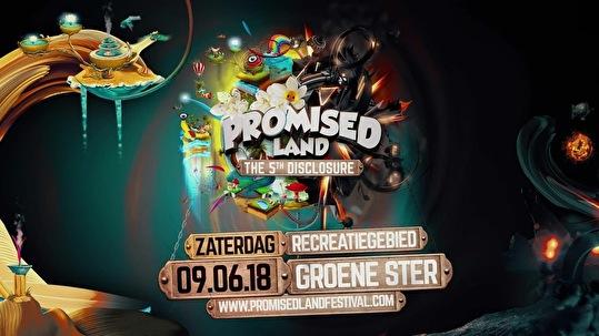 Promised Land Festival (flyer)