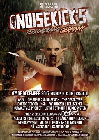 Noisekick's Terrordrang (flyer)