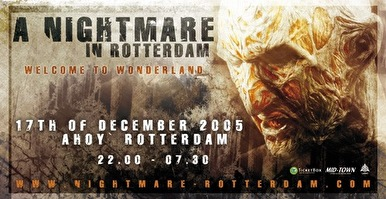 A Nightmare in Rotterdam (flyer)
