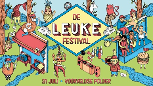 De Leuke Festival (flyer)