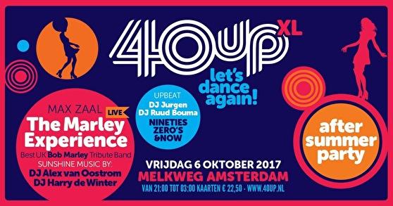 40UP XL · 6 oktober 2017, Melkweg, Amsterdam · evenement | 558 x 293 jpeg 66kB