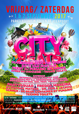 City Beats (flyer)