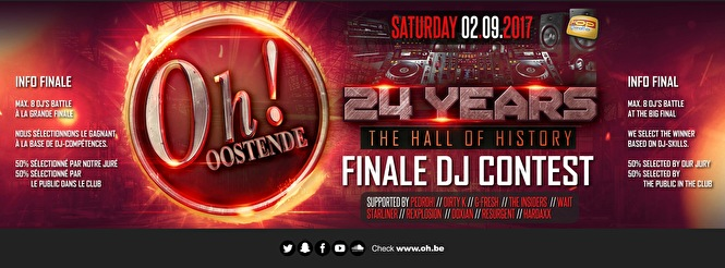 Finale DJ Contest (flyer)