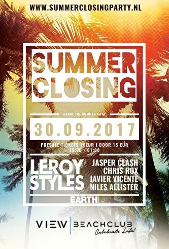 Summer Closing Party (flyer)