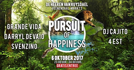 Pursuit of Happiness (flyer)