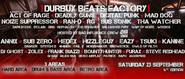 Durbuy Beats Factory (flyer)