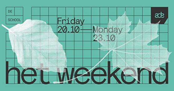 Het Weekend (flyer)