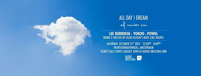 All Day I Dream of Winter Sun (flyer)