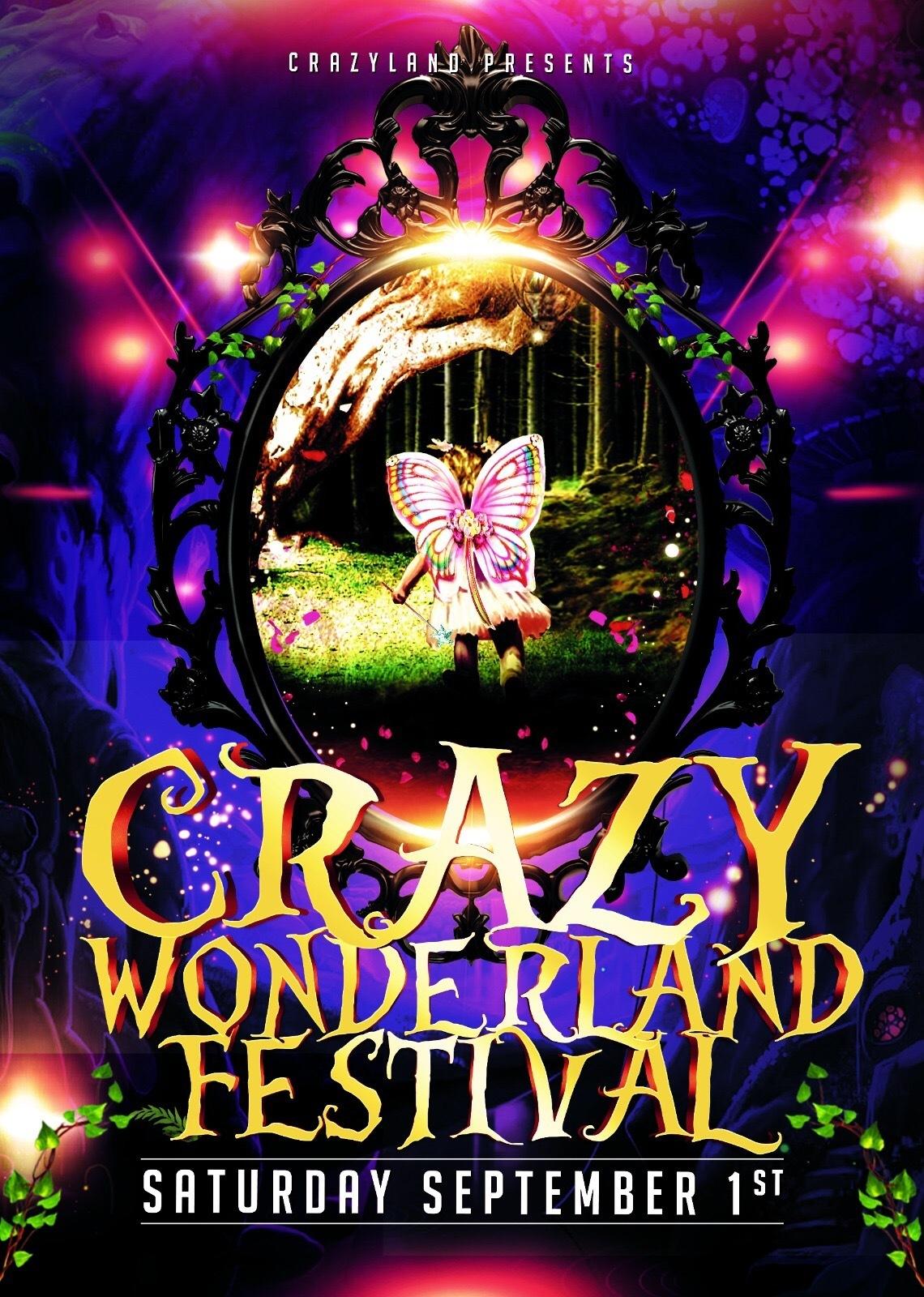 Crazy Wonderland Festival · 1 September 2018, Balkenhaven ...