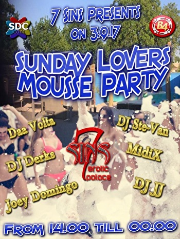 flyer Sunday Lovers Mousse Party