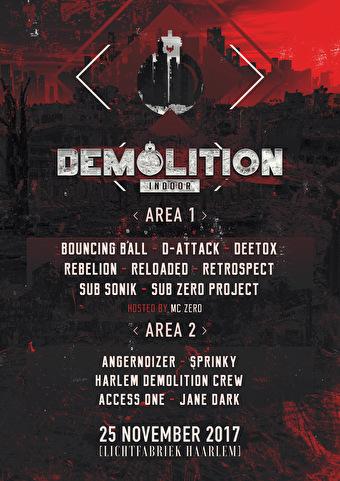 Demolition Indoor (flyer)