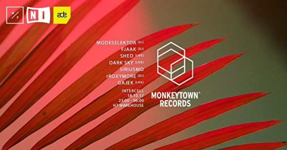 Intercell × Monkeytown (flyer)