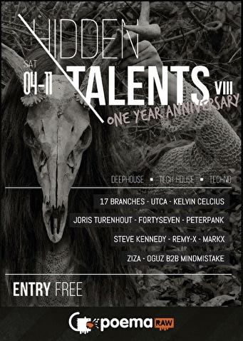Hidden Talents VIII (flyer)