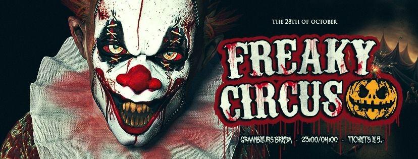 Halloween Party Breda.Freaky Circus Tickets Info