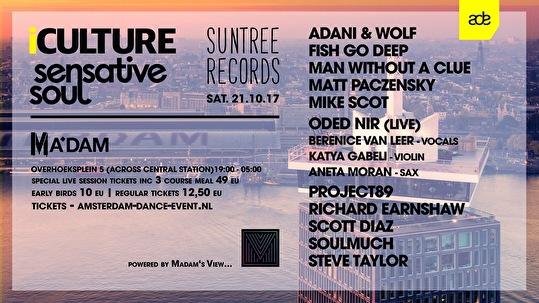 iCulture × Suntree Records × Sensative Soul (flyer)