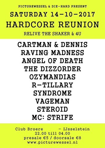 Hardcore Reunion (flyer)