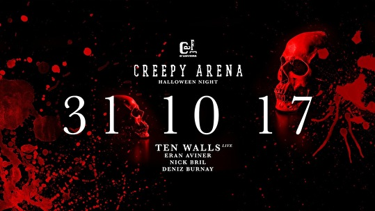 31 Oktober Halloween Feest.Creepy Arena Halloween Party 31 Oktober 2017 Cafe D