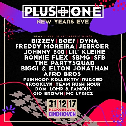 flyer Plus One Festival