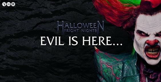 Halloween Fright Nights 2019 Walibi.Halloween Fright Nights Tickets Info