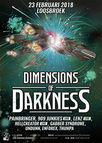 Dimensions of Darkness (flyer)