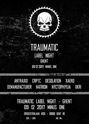Traumatic Label Night (flyer)