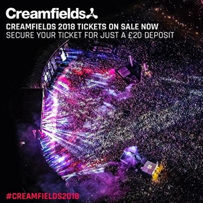 flyer Creamfields