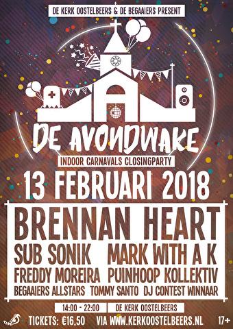 De Avondwake 2018 (flyer)