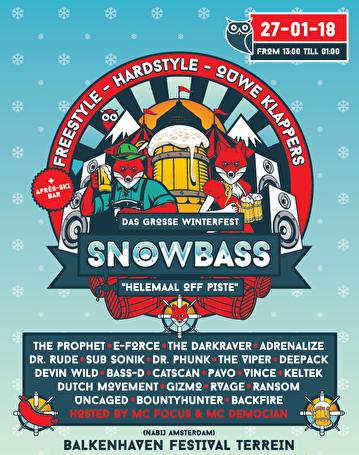 Snowbass Festival (flyer)