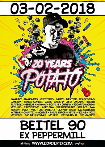 flyer 20 years Potato
