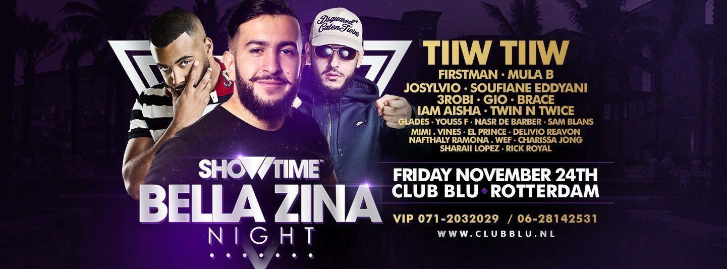 Showtime · Bella Zina Night